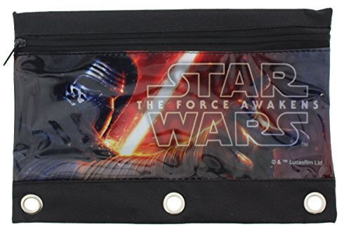 Star Wars The Force Awakens 3-Ring Pencil Pouch - Style May Vary