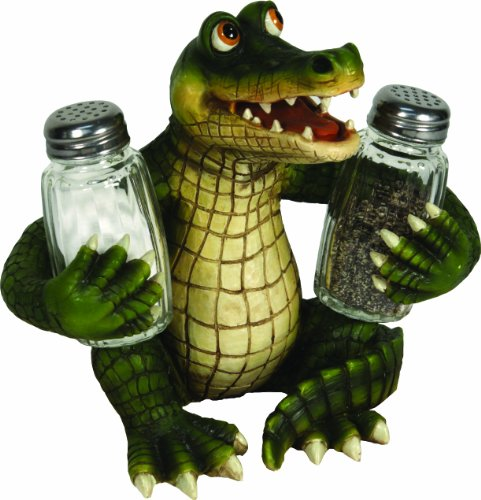 (River's Edge 584 Salt and Pepper Shaker Holder (Alligator))