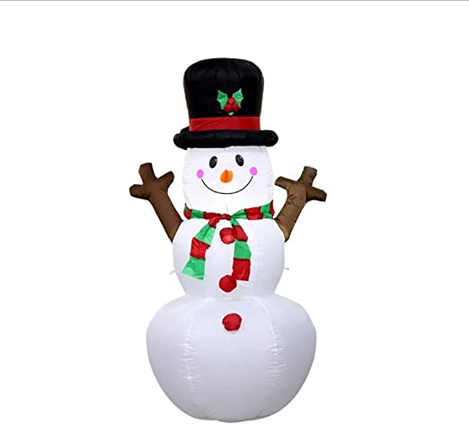 Weastion LED de Interior y al Aire Libre Enciende muñeco de Nieve ...