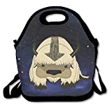 Avatar The Last Airbender Appa Cute Insulated Lunch Bag Tote Carry Bag