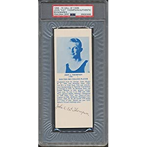 1968 74 Hof Bookmarks John Cat Thompson PSA/DNA Certified Certified Certified Autographed *3988