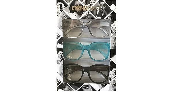 Amazon Com Cynthia Bailey Premium Fashion Reading Glasses 3 Pack