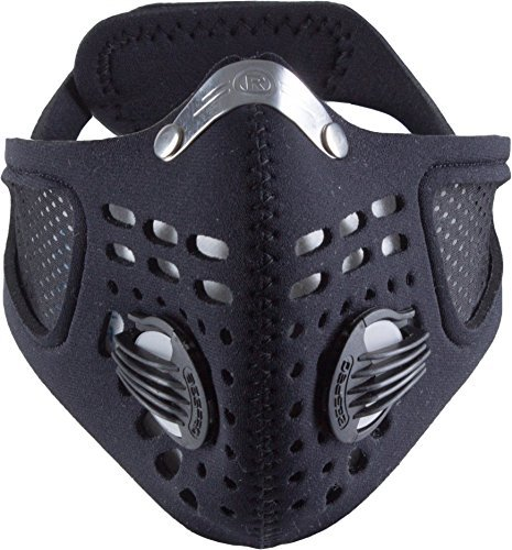 RESPRO SPORTSTA COMMUTER FACE MASK FOR POLLEN Medium or Large - BLACK m by Respro