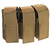 Airsoft 40mm MOLLE M203 Grenade Pouch (TAN) for CA-5xx and CA-60x Grenades