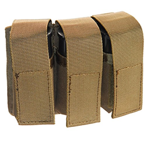 Airsoft 40mm MOLLE M203 Grenade Pouch (TAN) for CA-5xx and CA-60x Grenades by UKARMS
