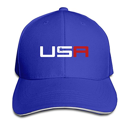 This Style Men's 2016 USA Ryder Cup Golf Logo Cool RoyalBlue Sport Hat