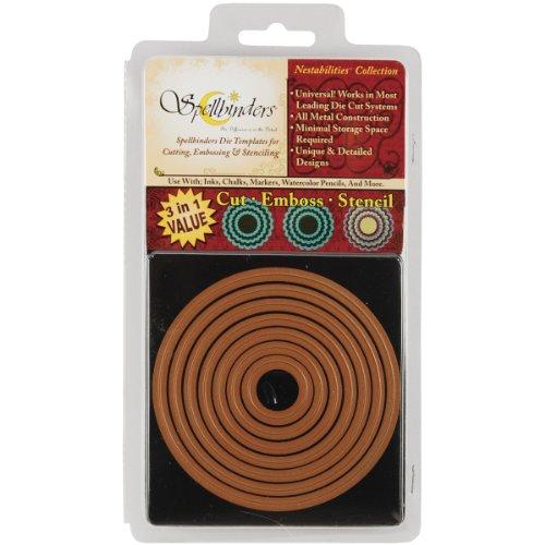 Spellbinders Nestabilities Dies-Standard Circles Large Large Standard Circles