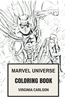 Amazon.com: Marvel Coloring Books For Adults, Marvel Coloring Book ...