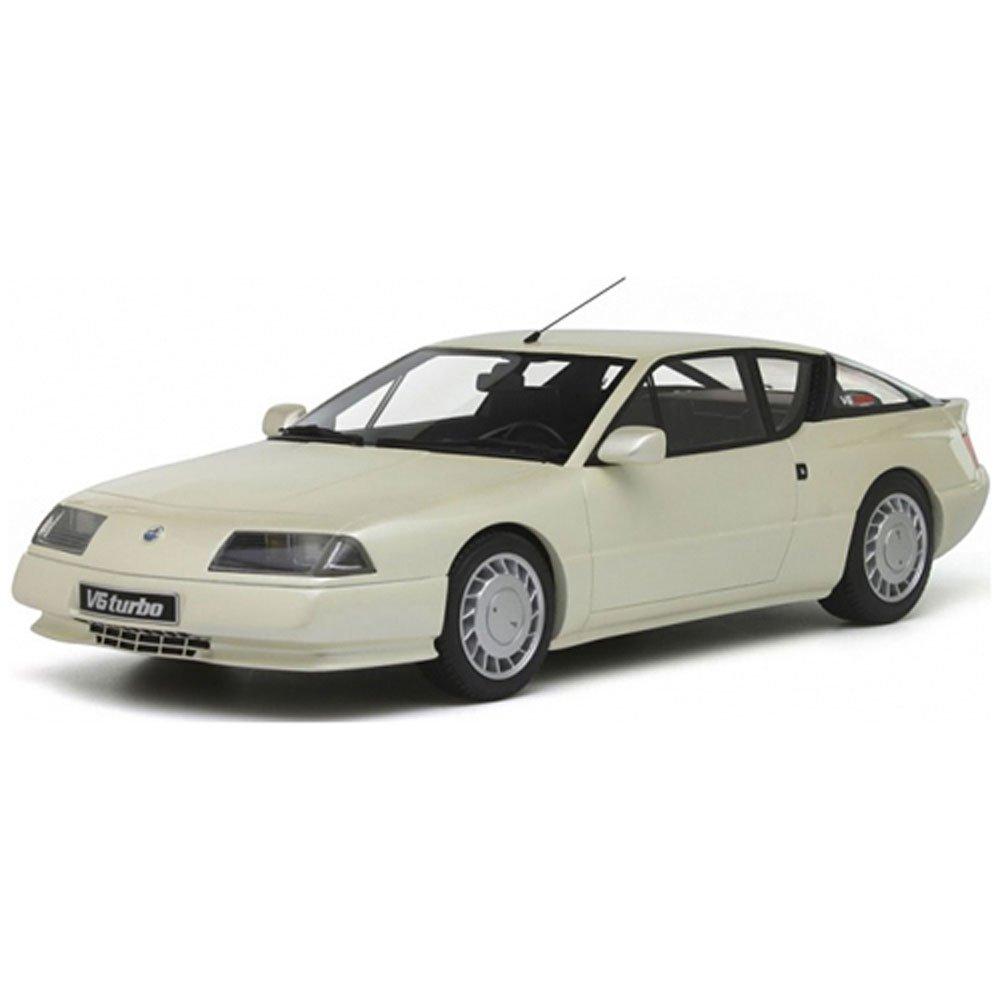 Otto Mobile ot662 - Alpine Renault - gta V6 TURBO 1986 - blanco/nácar - Escala 1/18: Amazon.es: Juguetes y juegos