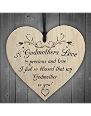 RED OCEAN Wooden Heart with Script 'Good Morning Gorgeous', for Hanging, Wall Sign, Love