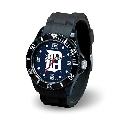 Detroit Tigers Watch (MLB Detroit Tigers Spirit Watch, Black)