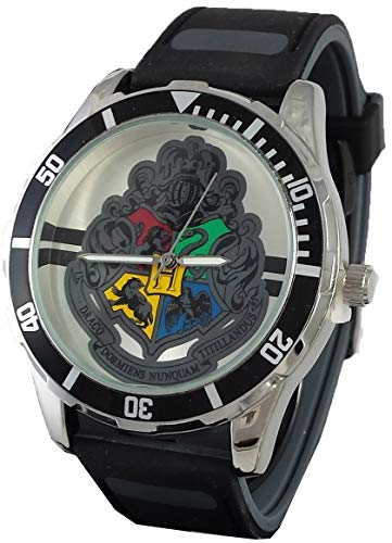 Harry Potter Men's Watch with Hogwart's - Potter Watch Band Harry