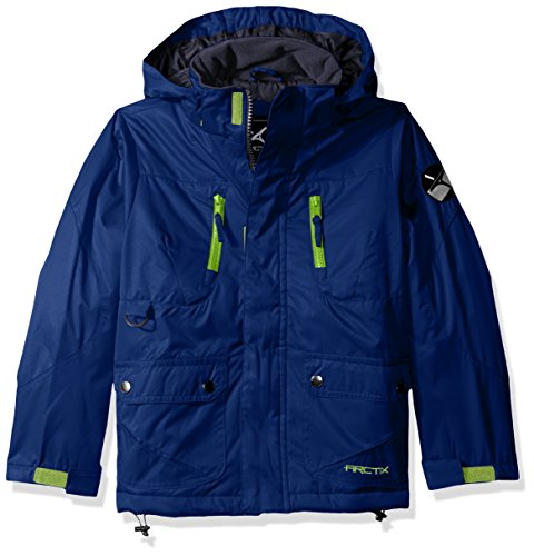 Arctix 737102-83-S Boys Nitro Insulated Winter Jacket, Royal Blue, Small