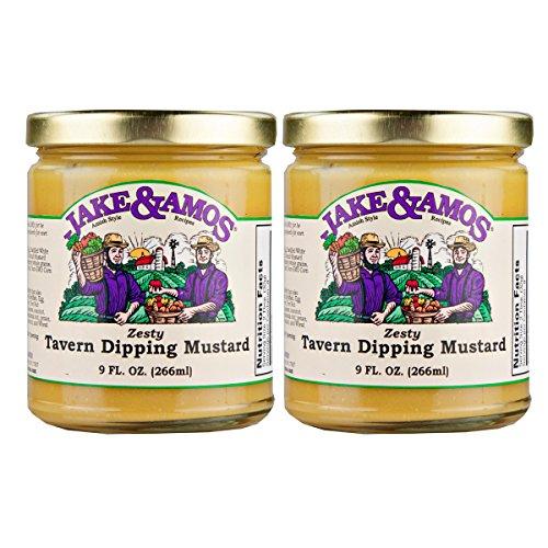 Jake & Amos Zesty Tavern Dipping Mustard / 2 - 9 Oz. Jars by Jake & Amos®