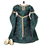 ": Celtic Princess Medieval Dress and Shoes Fits 18"" American Girl Dolls"