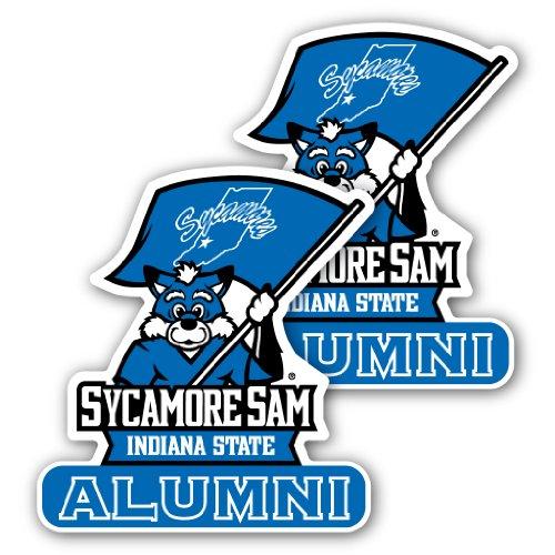 VictoryStore Indiana State University - Window Decal (Set of 2) - Alumni