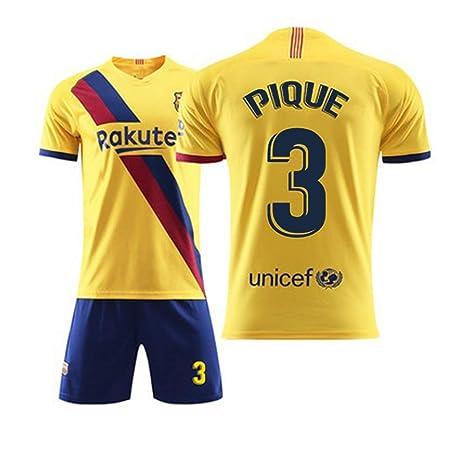 QQT Camisetas de fútbol Barcelona 3th Pique Away Field ...