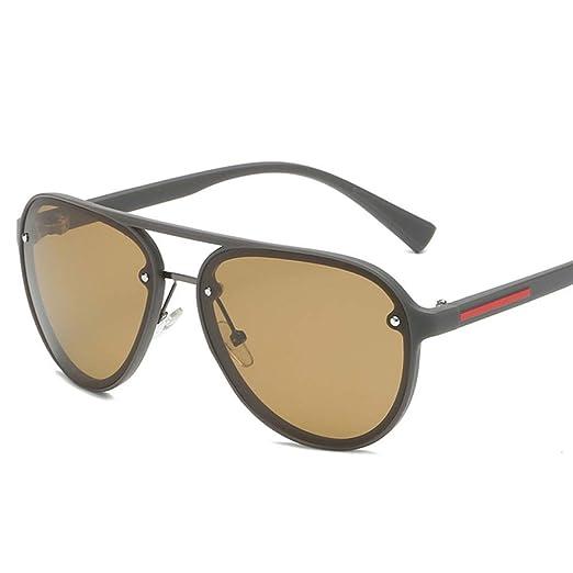 Yangjing-hl Piloto Mujer Gafas de Sol polarizadas Moda ...