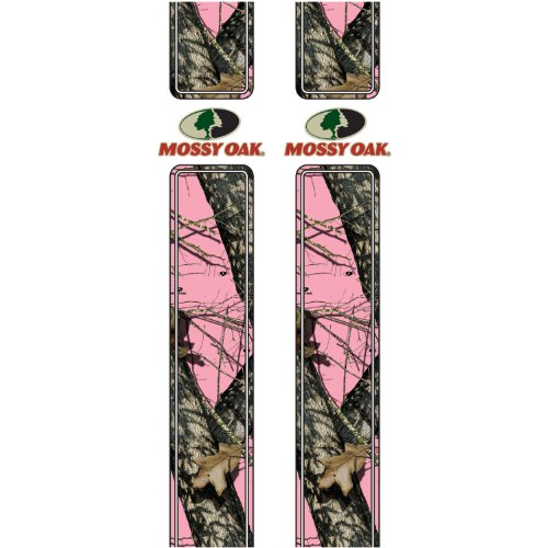 Rear Quarter Panel Skin (Mossy Oak Graphics 16001-BUP Break-Up Pink Rear Quarter Panel Graphics with Mossy Oak Logo)