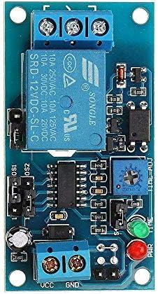 ZhaoXin Chen 12Vノーマルオープントリガディレイリレー、タイマ、電子モジュール振動板用のホームのスマート