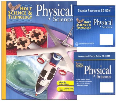 Holt Science & Technology: Package with Parent Guide CD Physical Science