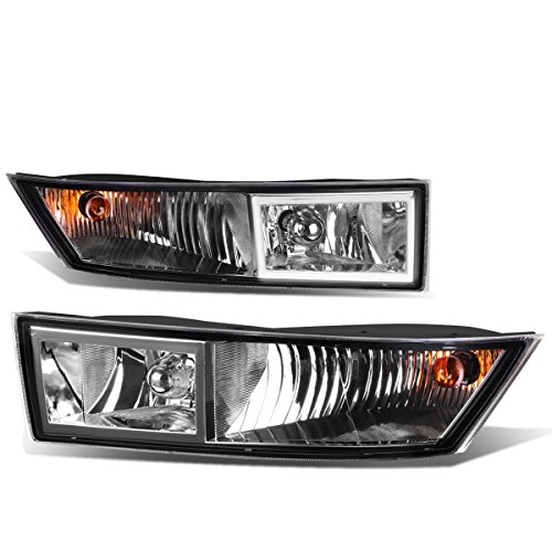 For Cadillac Escalade ESV EXT Pair of Bumper Driving Fog Lights (Clear Lens)
