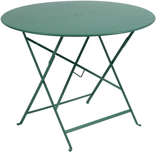 FERMOB Bistro Table pliante ronde cm. Ø 96 structure en ...