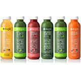 Suja Organic Cold-Pressed Juice, 3 Day Fresh Start Pack, 16 Fl Oz (Pack of 18), Plant-Powered Vegetable and Fruit Juices, Vegan, Gluten-free, Non-GMO, Made in USA