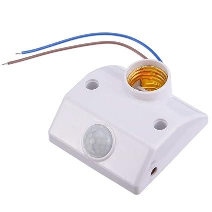 Amazon.com: Expressus - E27 PIR Sensor de Movimiento ...