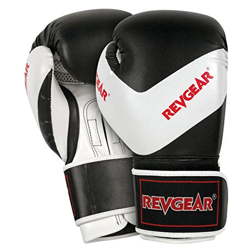 Revgear Kids Deluxe Boxing Gloves, 12-Ounce (Revgear Boxing Gloves 12oz)