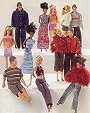 Patrón Burda 8576 Ropa para muñecas