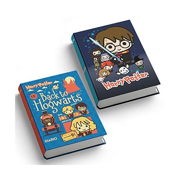 Harry Potter - Diario 2020/2021 Datato - Potter teen Cartonato Blu - 13x17.7cm 1 spesavip