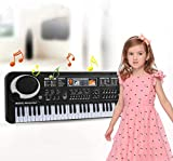 BOLLAER Music Piano Keyboard 61 Key for Kids, Portable Electric Organ Music Electronic