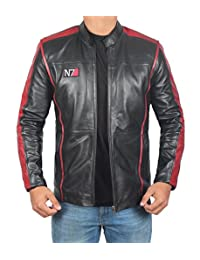 fjackets Mass Effect 3 N7 Game Real Leather Jacket ►BEST SELLER◄