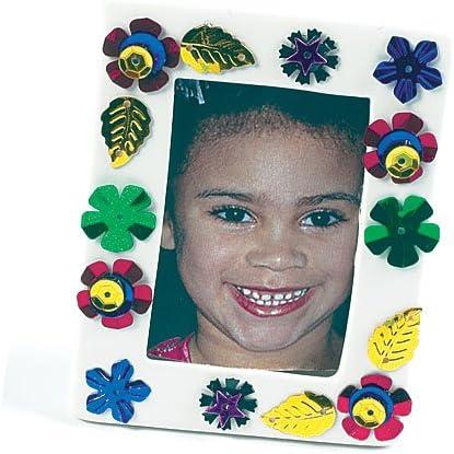 Vendu en pot Id/éal pour les loisirs cr/éatifs Baker Ross Sequins Multi-Couleurs les d/écorations de carte et les collages