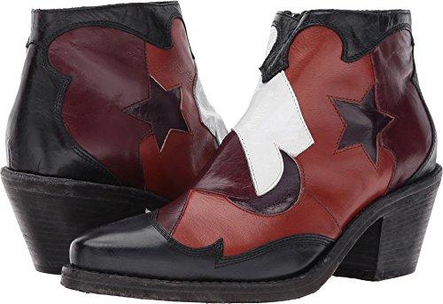 Mcq Womens Solstice Zip Boot Patchwork