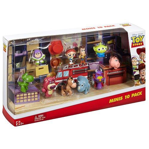 Disney Pixar Toy Story Deluxe Mini Figure Set – 10 Pack