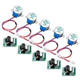 Longruner 5X Geared Stepper Motor 28byj 48 Uln2003 5v Stepper Motor Uln2003 Driver Board for arduino (no Wire)
