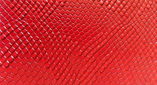 Mybecca RED Embossed Snake Vinyl 54