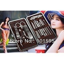 Ascentan(TM)13Pcs Nail Clippers Manicure Kits Pedicure Beauty Set Mini Stainless Steel Tools