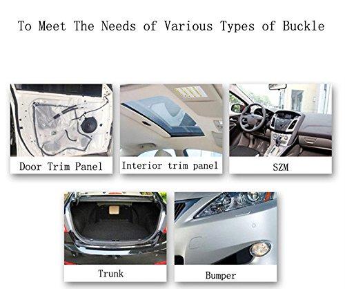 Diking 330Pcs Car Bumper Fasteners Rivet Clips Kit for Toyota,Honda,Mitsubishi,Mazda,Nissan