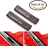 Twinkling Stars 10 Pack Replacement Roof Rail Rack Moulding Clip Cover for Mazda 2 3 6 CX5 CX7 CX9