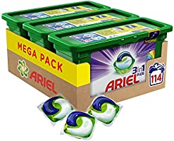Ariel 3-in-1 Pods Colour and Style Washing Capsules  (114 Washes)