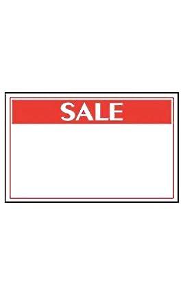 Amazon.com: Tarjetas de cartel de venta de tamaño mediano ...
