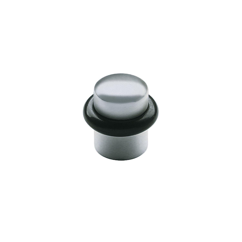 SOLIDO Boden-Türpuffer ø 25 mm | Türstopper | Edelstahl matt | 1 Stück V102A283S653