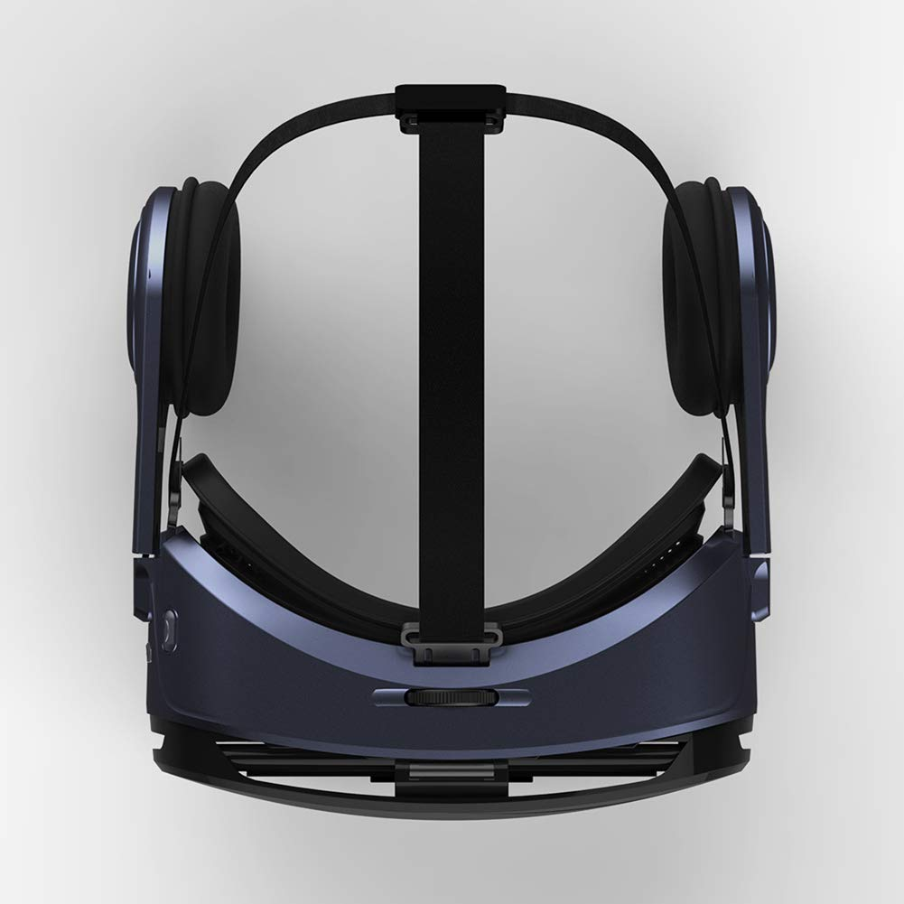 IOIOA Tragbare Virtual Reality-Brille 3D-Panorama-Stereokamera mit Kopfh/örern f/ür 4,5-6-Zoll-Mobiltelefone