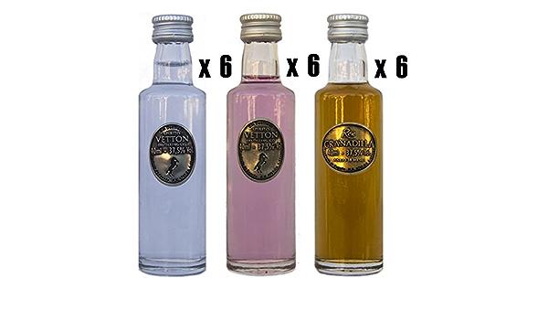 CEREX – Pack Degustación de 18 botellas de Ron Añejo ...