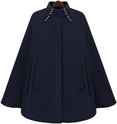 manteau cape femme hiver avec capuche