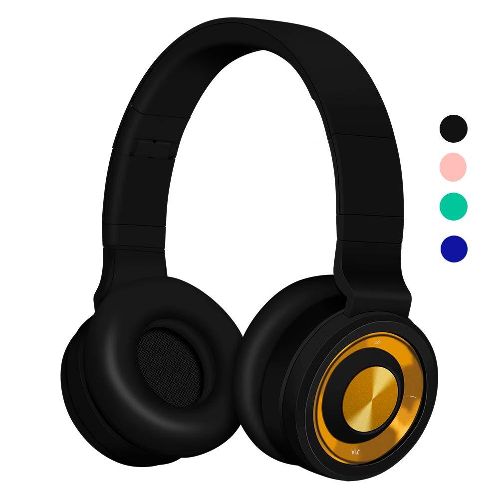 Verde Cablata e Wireless per Mobile Phone//PC//Laptop//TV//Android Cuffie Cancellazione Rumore,Suono Stereo Hi-Fi Funwaretech Cuffie Bluetooth Senza Fili,G4 Cuffie Over Ear Bluetooth 5.0 con Microfono