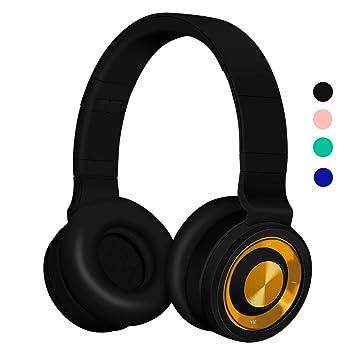 Funwaretech G4 Auriculares Inalámbricos con Micrófono,Cascos Bluetooth Diadema,Auriculares Inalámbricos de Diadema Cerrados,20hrs Reproducción de ...